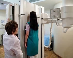 Как делают рентген грудного отдела позвоночника