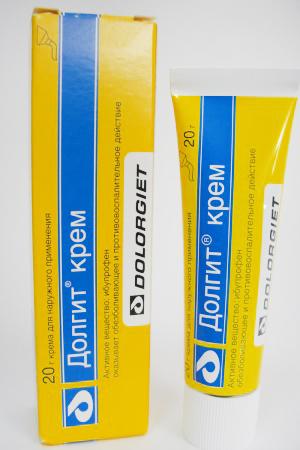 Меры предосторожности при применении крема долгит