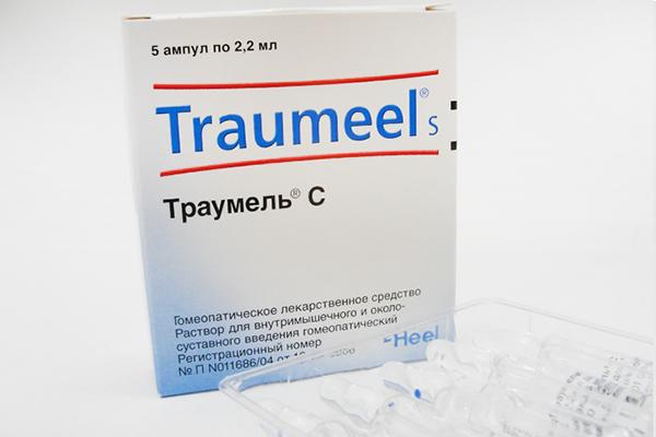 Гомеопатические таблеткипри артрозе трумель