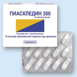 Лечебное действие Пиаскледина 300