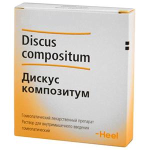 Состав гомеопатического препарата Дискус композитум