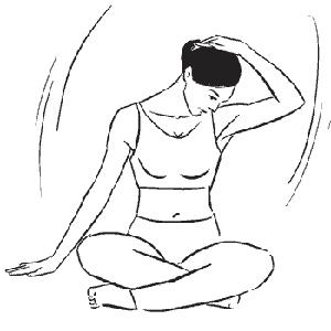 Подготовка к упражнениям на шейный отдел