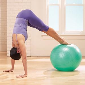 Упражнений на фитболе при пояснично-крестцовом остеохондрозе
