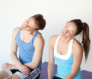 Лечебные тренировки для мышц шеи