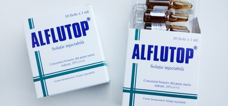 Уколы алфлутоп