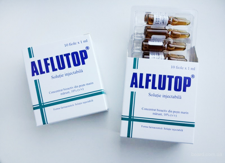 Алфлутоп при остеохондрозе шейного отдела
