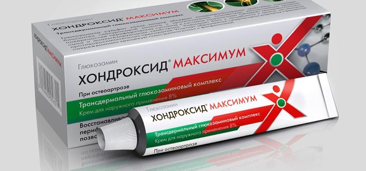 Препарат Хондроксид при лечении остеохондроза