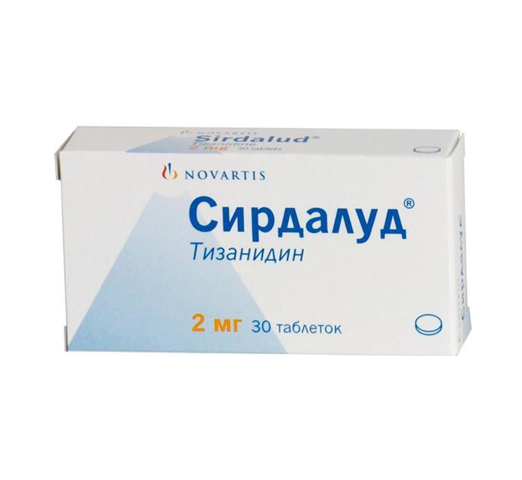 Сирдалуд инструкция по применению таблетки