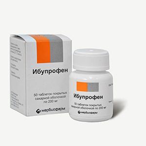 Состав Ибупрофена