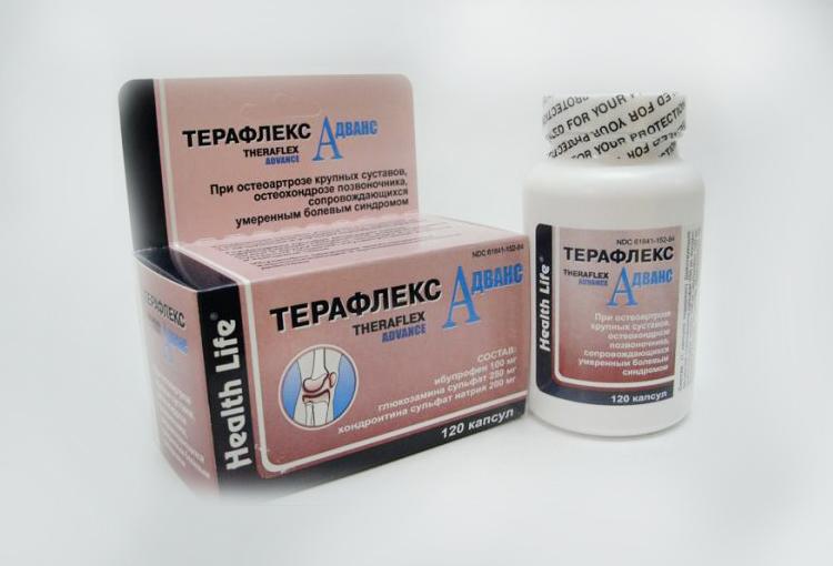 Терафлекс Адванс - официальная инструкция по применению, аналоги