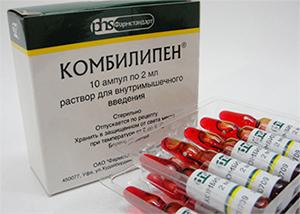 Препараты группы в при радикулите