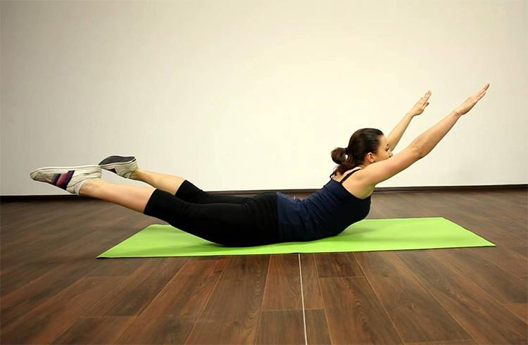 Упражнения с картинками при грыже позвоночника 10