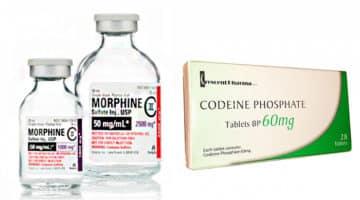Морфин и кодеин: что лучше