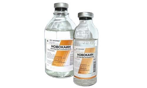 Лекарство Новокаин вводится в организм через положительный полюс прибора
