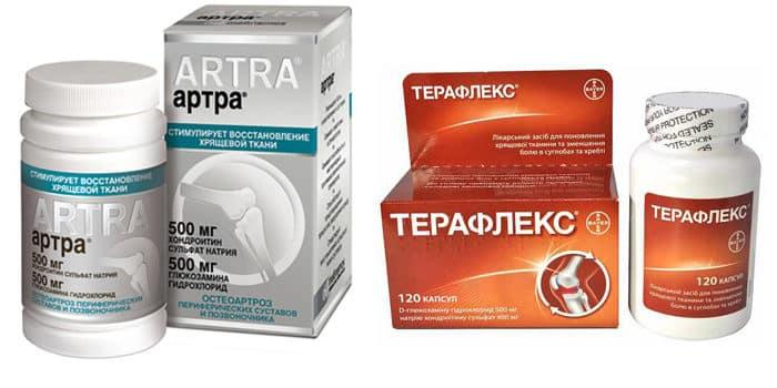 Что выбрать: Артра или Терафлекс