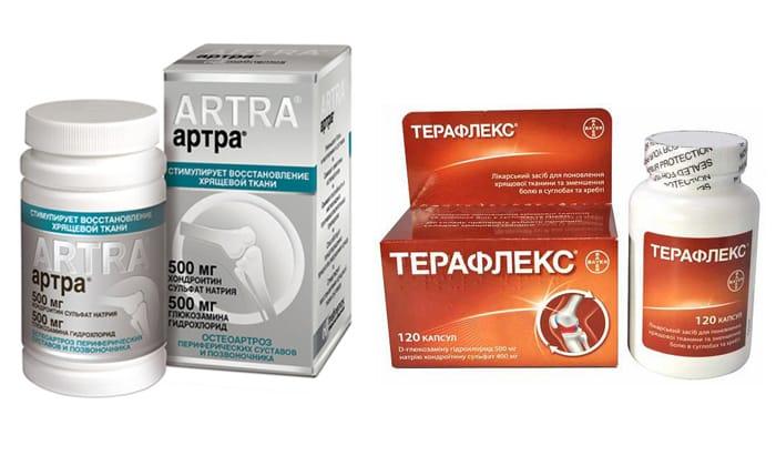 Инструкция по применению препарата Артра при грыже позвоночника